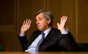 Chris Huhne: Picture courtesy telegraph blogs