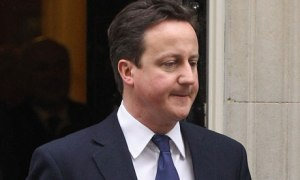 David Cameron outside Downing Street. Picture courtesy: Guardian