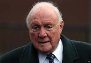 Stuart Hall; One of a growing number of elderly sex offenders now in jail. Pic courtesy: Huffington Post