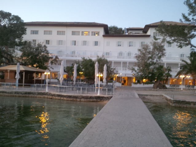Hotel Illa D'Or, Puerto Pollensa Majorca. from the jetty.Picture by me