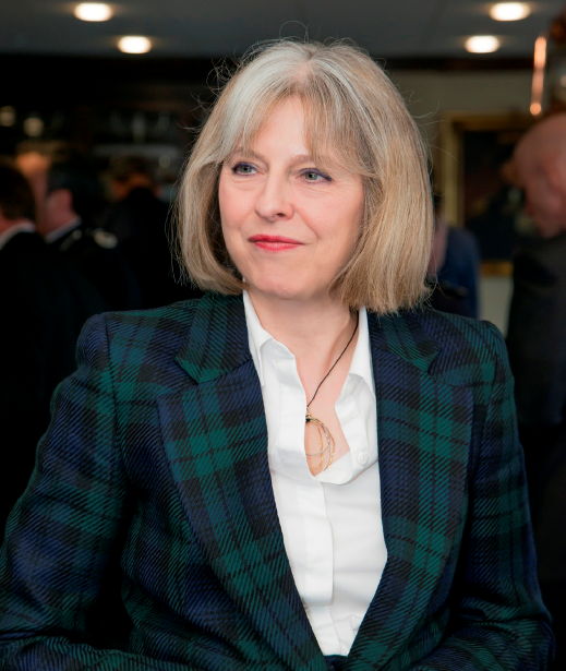 Theresa May, home sercretary.Bad, mad and sad if she scraps the whole inquiry Pic Credit: conservatives.com