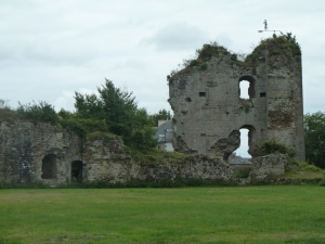 Ruined castle at Hede