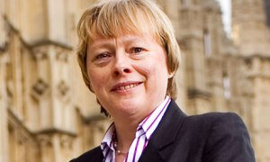 Angela Eagle Benefiting  from Yvette Cooper's pro women campaign.. Pic credit: The Guardian