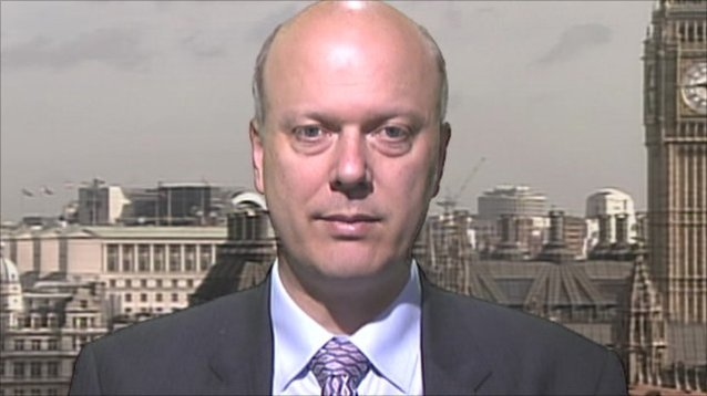Chris Grayling: His £400m gift to contractor's profits sparked a pathetic clampdown pic courtesy: BBC