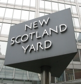 Sign outside old Scotland Yard building Pic Credit: Wikipedia