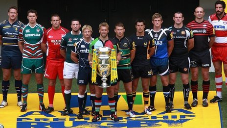 Aviva Rugby premiership clubs - in need of taxpayer subsidy?  Image credit: BBC