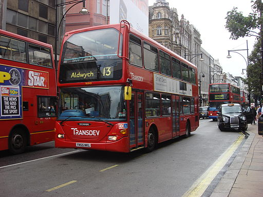 The Number 13 bus - not to be used by Boris for a dirty tricks! Pictire Credit: Commons