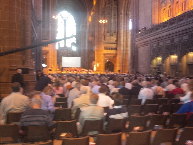 Concert at Liverpool Cathedral