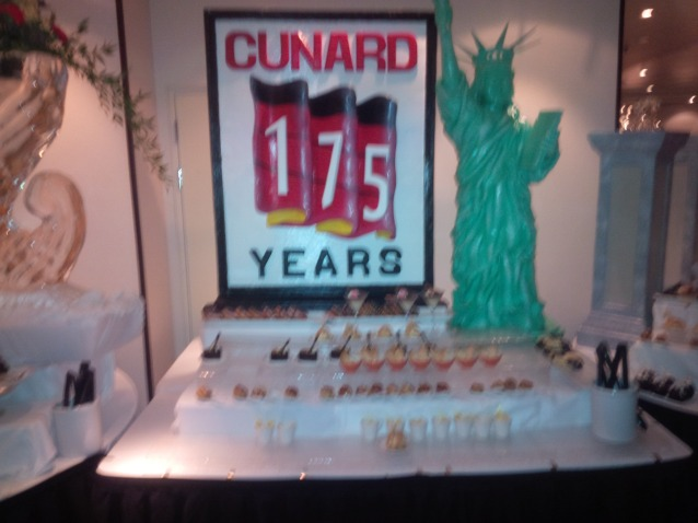 Food:175th anniversary chocolate feast and ice scupltures
