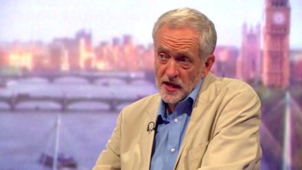 Jeremy Corbyn: Now leader. Pic credit: Labour List