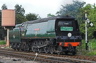 steam locomotive tangmere