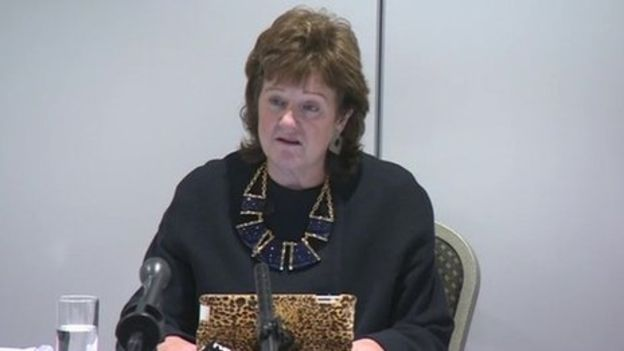 Alexis Jay at the Rotherham inquiry Pic credit BBC