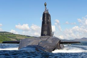 HMS Victorious a nuclear power submarine - to be part paid by your electric bills