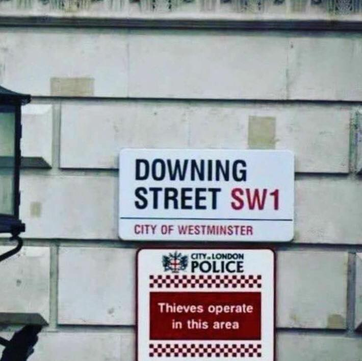 Downing Street thieves