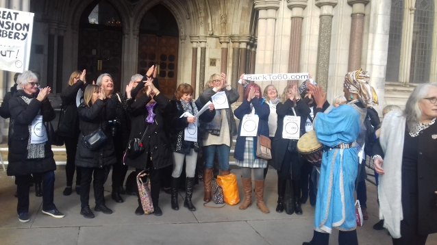 Permission granted: 50s Women win historic case to judicial review